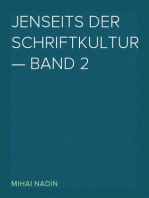 Jenseits der Schriftkultur — Band 2