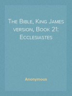 The Bible, King James version, Book 21