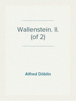 Wallenstein. II. (of 2)