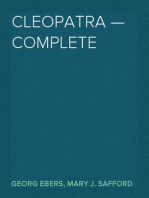 Cleopatra — Complete