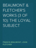 Beaumont & Fletcher's Works (3 of 10)