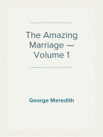 The Amazing Marriage — Volume 1