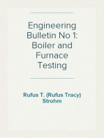 Engineering Bulletin No 1: Boiler and Furnace Testing