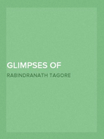 Glimpses of Bengal Selected from the Letters of Sir Rabindranath Tagore