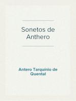 Sonetos de Anthero