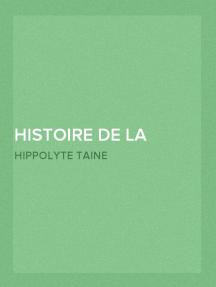 Histoire de la Littérature Anglaise (Volume 4 de 5)