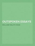 Outspoken Essays
