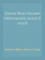 Zágoni Mikes Kelemen törökországi levelei (1. kötet)
