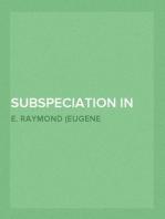 Subspeciation in Pocket Gophers of Kansas, [KU. Vol. 1 No. 11]