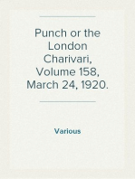Punch or the London Charivari, Volume 158, March 24, 1920.