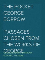 The Pocket George Borrow