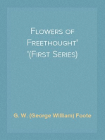 Flowers of Freethought (First Series)