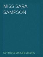 Miss Sara Sampson