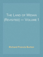 The Land of Midian (Revisited) — Volume 1