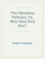 The Newsboy Partners; Or, Who Was Dick Box?