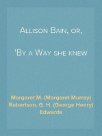 Allison Bain, or, By a Way she knew not