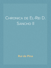 Chronica de El-Rei D. Sancho II