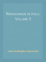 Renaissance in Italy, Volume 3 The Fine Arts