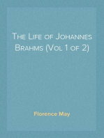 The Life of Johannes Brahms (Vol 1 of 2)
