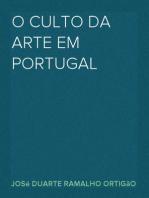 O culto da arte em Portugal