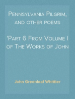 Pennsylvania Pilgrim, and other poems