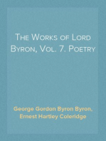 The Works of Lord Byron, Vol. 7. Poetry