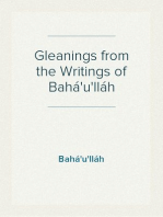 Gleanings from the Writings of Bahá'u'lláh