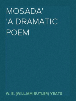 Mosada A dramatic poem