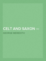Celt and Saxon — Volume 1