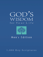 Bible Wisdom for Your Life--Men's Edition