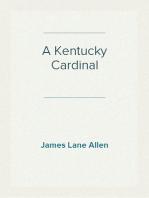 A Kentucky Cardinal A Story