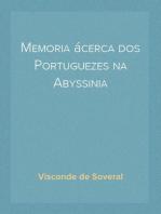 Memoria ácerca dos Portuguezes na Abyssinia
