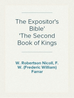 The Expositor's Bible The Second Book of Kings
