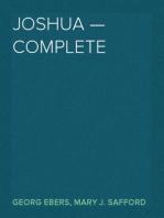 Joshua — Complete