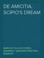 De Amicitia, Scipio's Dream