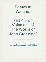 Poems in Wartime