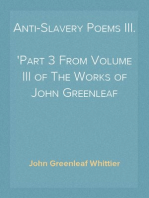 Anti-Slavery Poems III.
