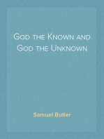 God the Known and God the Unknown