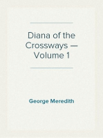 Diana of the Crossways — Volume 1
