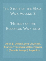 The Story of the Great War, Volume 3