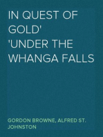 In Quest of Gold Under the Whanga Falls