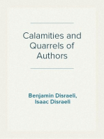 Calamities and Quarrels of Authors