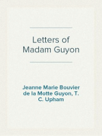 Letters of Madam Guyon