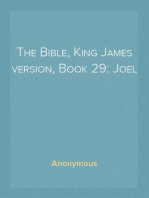 The Bible, King James version, Book 29