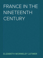 France in the Nineteenth Century