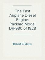 The First Airplane Diesel Engine
