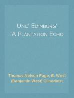 Unc' Edinburg A Plantation Echo
