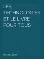 Les technologies et le livre pour tous