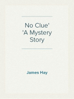 No Clue A Mystery Story