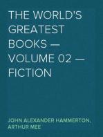 The World's Greatest Books — Volume 02 — Fiction